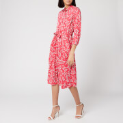 Joules Women's Winslet Long Sleeve Dress - Red Ditsy