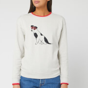 Joules Women's Presley Jumper - Grey Dog