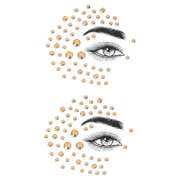 MCoBeauty Face Glam Eye and Body Jewels - Dessert Rose