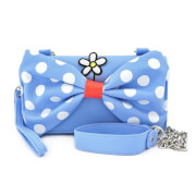Loungefly Disney Positively Minnie Polka Dot Crossbody Wristlet