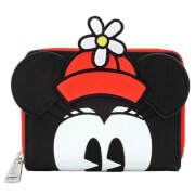 Loungefly DisneyPositively Minnie Polka Dot Zip Around Wallet