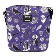 Loungefly Villain Icons AOP Nylon Passport Bag