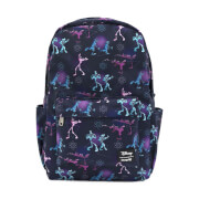 Loungefly A Goofy Movie Powerline AOP Nylon Backpack