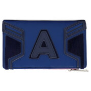 Loungefly Marvel Captain America End Game Hero Flap Wallet