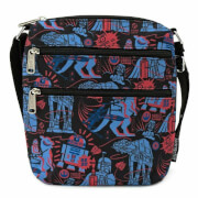 Loungefly Star Wars Empire 40th Nylon Passport Bag