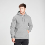 MP Men's Essentials Hoodie - Classic Grey Marl