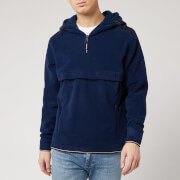 Tommy Hilfiger Men's Polar Fleece Anorak Jacket- Desert Sky