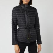 MICHAEL MICHAEL KORS Women's Belted Packable Puffer Jacket - Black