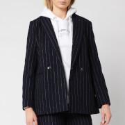 Superdry Women's Edit Sapporo Blazer - Navy Stripe