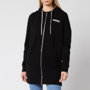 Guess Women's Kristen Zip Through Hoody - Jet Black