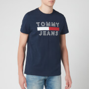 Tommy Jeans Men's Essential Logo T-Shirt - Black Iris