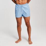 MP Men's Contrast Stitch Swim Shorts - Sky Blue
