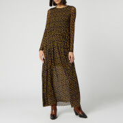 Free People Women's Hello and Goodbye Midi Dress - Black