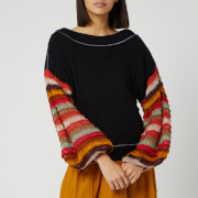 Free People Women's Cha Cha Sweatshirt - Black