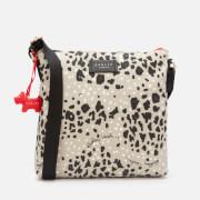 Radley Women's Leopard Oilskin Small Ziptop Cross Body Bag - Aluminium