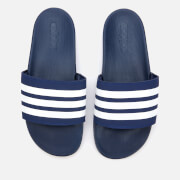 adidas Men's Adilette Comfort Slide Sandals - Dark Blue