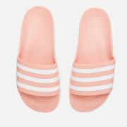 adidas Women's Adilette Aqua Slide Sandals - Dust Pink