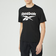 Reebok Men's Supremium Graphic Short Sleeve T-Shirt - Black