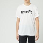 Reebok Men's Crossfit Short Sleeve T-Shirt - White