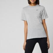 Reebok Women's Easy Short Sleeve T-Shirt - Medium Grey Heather