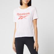Reebok Women's Supremium Short Sleeve T-Shirt - Pixel Pink