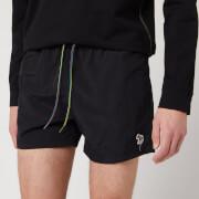 PS Paul Smith Men's Zebra Swim Shorts - Black