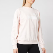 Puma Women's Amplified Crew Neck Sweatshirt - Rosewater