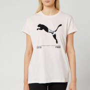 Puma Women's Nu/Tility Short Sleeve T-Shirt - Rosewater