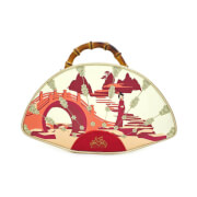 Loungefly Disney Mulan Bamboo Fan Handbag