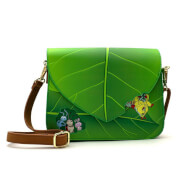 Loungefly Disney Pixar A Bugs Life Leaf Crossbody Bag