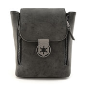 Loungefly Star Wars Blk Metal Closure Convertible Backpack