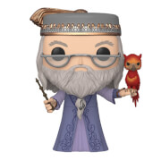 Harry Potter Dumbledore with Fawkes 10-Inch Pop! Vinyl Figure
