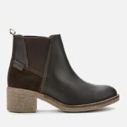 Barbour Women's Keren Leather Heeled Chelsea Boots - Brown