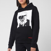 Karl Lagerfeld Women's Legend Hoody - Black