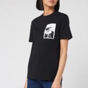 Karl Lagerfeld Women's Legend Pocket T-Shirt - Black