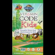 Multivitamines pour Enfant Vitamin Code - 30 comprimés à croquer