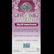 Raw Vegetarian Resveratrol - 60 Capsules