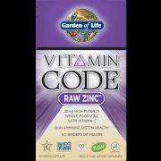 Vitamin Code RAW Zinc Vegan Capsules - 60 Capsules