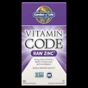 Vitamine Code Raw Zink - 60 capsules