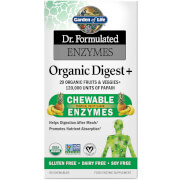 Enzymes Organic Digest+ - Tropical Fruit - 90 Chewables