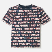 Tommy Hilfiger Boys' All Over Print T-Shirt - Blue Allover