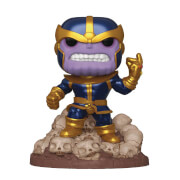 Figura Funko Pop! - Thanos Chasquido Exclusivo Metalizado (6''/15cm) - Marvel: Vengadores