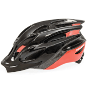 Raleigh Mission Evo Cycling Helmet - Black/Red