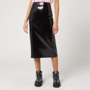 McQ Alexander McQueen Women's Pu Skirt - Black