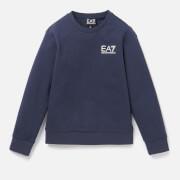 Emporio Armani EA7 Boys' Small Logo Sweatshirt - Navy