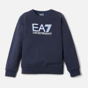 Emporio Armani EA7 Boys' Large Logo Sweatshirt - Navy