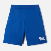 Emporio Armani EA7 Boys' Small Logo Shorts - Mazarine Blue