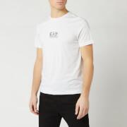 Emporio Armani EA7 Men's Middle Chest Logo T-Shirt - White