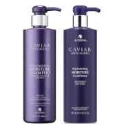 Alterna Caviar Anti-Aging Replenishing Moisture Shampoo and Conditioner 16.5 oz