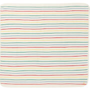 Joules Baby The Knitted Blanket - White Multi Stripe